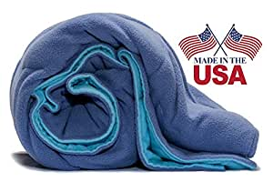 """Premium Therapeutic Weighted Blanket-Deep Pressure-15lb-Calm, Soothe, Teens and Adults on Autism Spectrum, Asperger Syndrome, Sensory Processing Disorder, Restless Leg Syndrome. (41""""x72"""" 15lb)"""