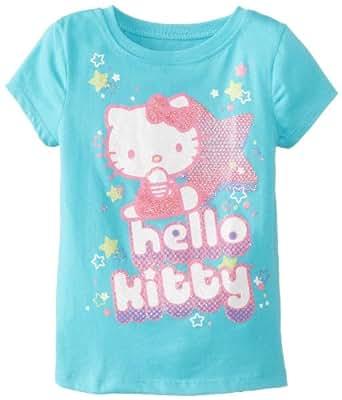 Hello Kitty Girls' Star-Print T-Shirt