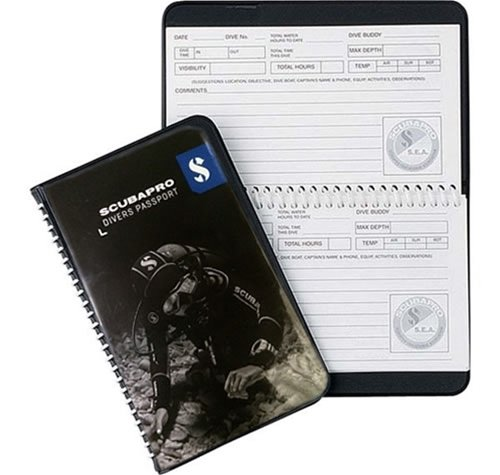 ScubaPro Water Proof Pages Divers Log (3 Ring Log Book)