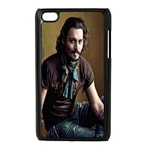 iPod Touch 4 Case Black Johnny Depp SP4186463