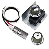 X Home 91360 Grill Igniter Kit Replacement for Weber Spirit 200/300 Series(2009-2012) Grill with Side-Control Panel, Spirit E/S-200 E/S-210, Spirit E/S-310 E/S-320, Spirit 700, Ignitor Kit with Button