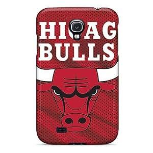 Unique Design Galaxy S4 Durable Tpu Case Cover Chicago Bulls
