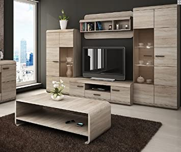 LUKA  Modern set TV Table Entertainment Unit stand Living Room