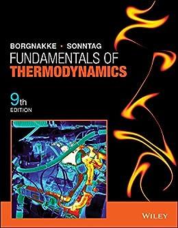 Fundamentals Of Thermodynamics 9th Edition Claus Borgnakke