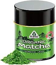 Matcha Green Tea Powder - [CFIA Organic] - Japanese Ceremonial Grade - 100% Pure Natural Antioxidant Uji Super