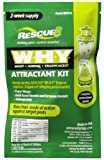 RESCUE! WHYTA WHY Trap Wasp, Hornet, Yellow Jacket Non-Toxic Attractant Refill (2 Week) [8 Pack]
