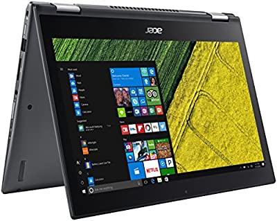 "Acer Spin 5, 8th Gen Intel Core i5-8250U, 13.3"" Full HD Touch, 8GB DDR4, 256GB SSD, Windows 10 Home, SP513-52N-5621 by Acer"