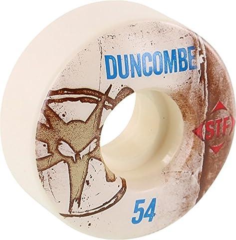Bones Wheels Jake Duncombe Street Tech Formula Vintage Skateboard Wheels - 54mm 83b (Set of 4) (Jake Duncombe Skateboard)