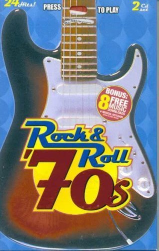 Rock & Roll '70s: 24 Hits! Double CD set with Musical Keychain by Rare Earth, Paper Lace, Pilot, Atlanta Rhythm Section, Badfinger, B.J. Thomas, J (0100-01-01) ()
