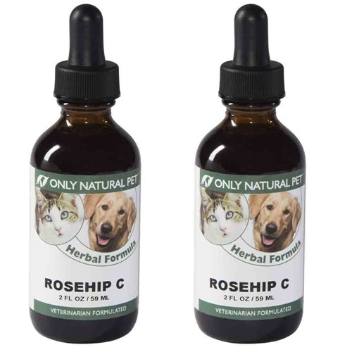 Only Natural Pet Rosehip C Herbal Formula 2 oz 2 Pack