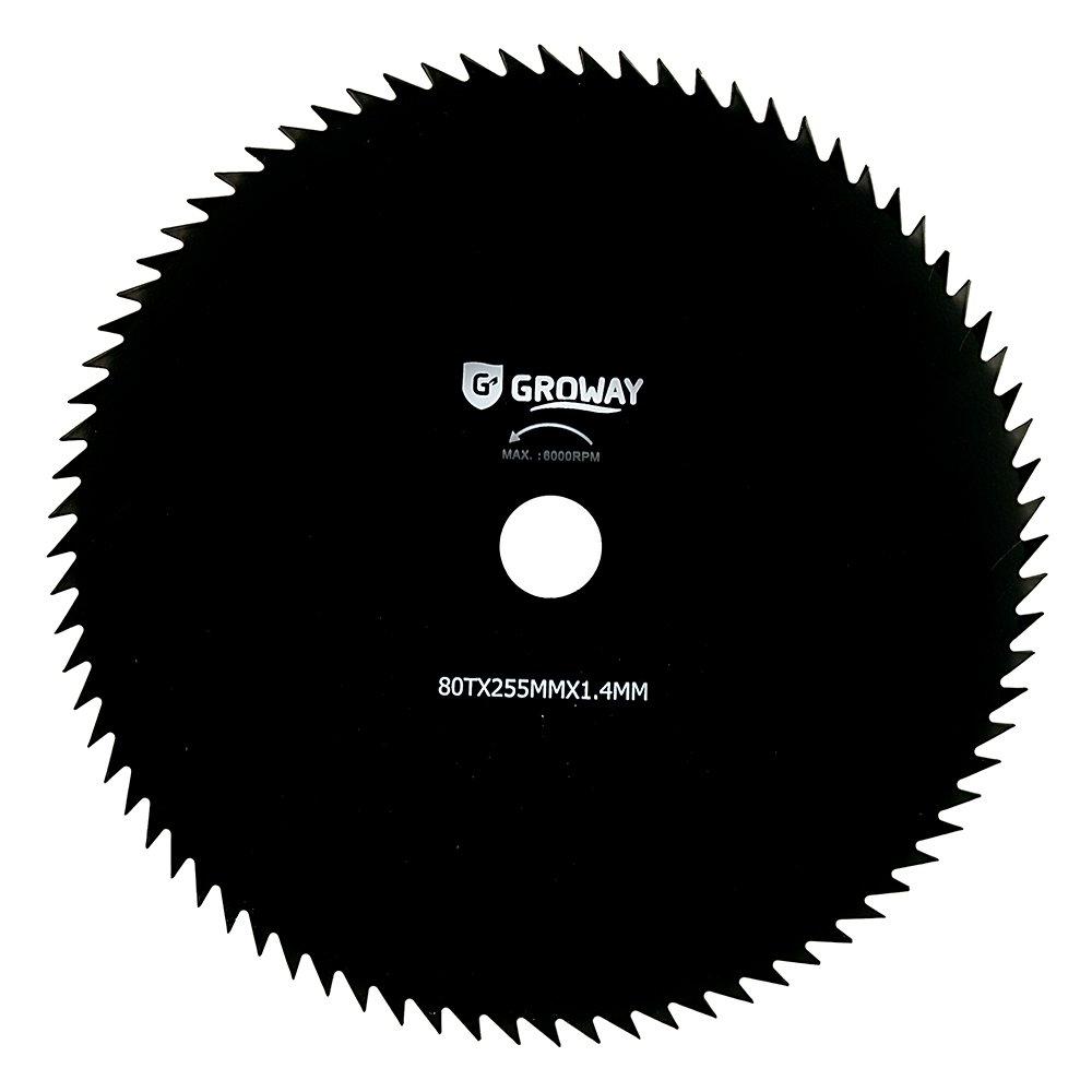 Agrimotoc-Hoja de disco-Desbrozadora dientes, 80 x 255 mm 1,4 mm ...