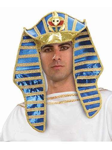 Forum Novelties Men's Egyptian Costume Headpiece, Multi, One Size -