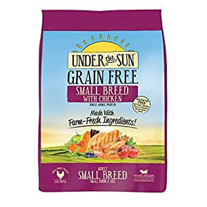 dogs under grain free adult food with lamb