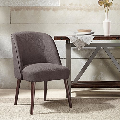 Madison Park Bexley Rounded Back Dining Chair Charcoal See below