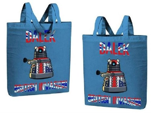 Doctor Who Dalek British Invasion - Shopper