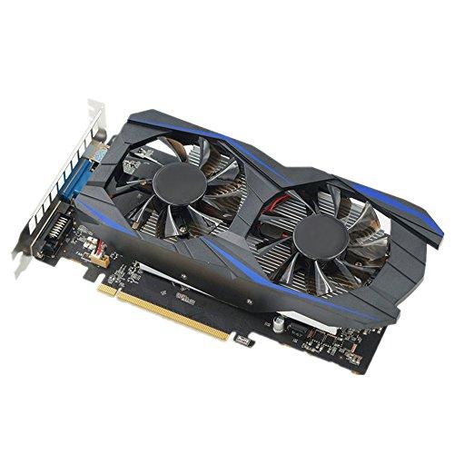 Littleice NVIDIA GeForce GTX750TI 2GB GDDR5 192bit VGA DVI HDMI Graphics Card w/ Fan