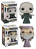 Funko POP! Harry Potter: Albus Dumbledore + Voldemort - Vinyl Figure Set NEW
