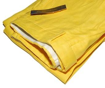 Polo Ralph Lauren Mens Linen Yellow Dress Casual Pants 32/30 at ...