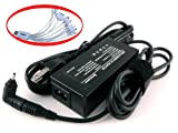 iTEKIRO 12V AC Adapter Charger for Samsung ATIV Tab 3 XE300TZC, XE300TZC-K01US; Chromebook 3G XE303C12, XE303C12-A01US, XE303C12-H01US; ATIV Smart PC XE500T1C, XE500T1C-A01US, XE500T1C-A02US, XE500T1C-A03US, XE500T1C-A04US, XE500T1C-HA1US, XE500T1C-HA2US, XE500T1C-K01US, XE500T1C-K02US, XE700T1C, XE700T1C-A01US, XE700T1C-A02US, XE700T1C-A03US, XE700T1C-A04US, XE700T1C-K01US + iTEKIRO 10-in-1 USB Charging Cable