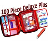 AKC Pet First Aid Kit *DELUXE PLUS*, Large 100 Piece Kit with Tick Removal Tool