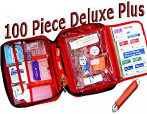 AKC Pet First Aid KitDELUXE PLUS, Large 100 Piece Kit with Tick Removal Tool