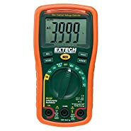 "Extech Instruments EX330-VP Extech Digital Multimeter, EX330, 5.7"" H x 2.9"" W x 1.6"" D"