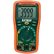 "Extech Instruments EX330-VP Extech Digital Multimeter, EX330, 5.7"" H x 2.9"" W x 1.6"" D"