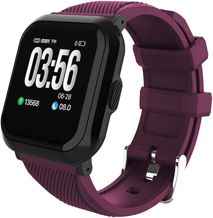HKPLDE Smartwatch/Fitness Tracker GPS Monitor De Sueño Podómetro Bluetooth Pulsera Actividad Modos Deportes para Hombres para Android E iOS