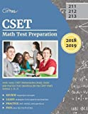 #8: CSET Math Test Preparation 2018-2019: CSET Mathematics Study Guide and Practice Test Questions for the CSET Math Subtest I, II, II