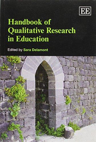 Handbook of Qualitative Research in Education (Elgar Original Reference)
