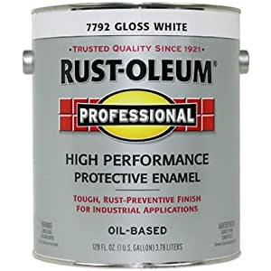 RUST-OLEUM K7792-402 Professional Gallon White Gloss Enamel