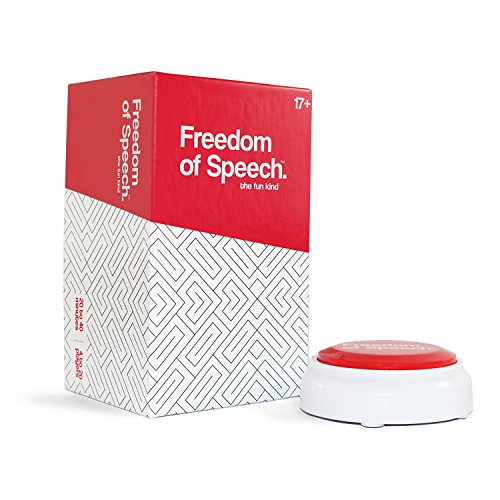 Freedom Of Speech Adult Board Game: The Team Drinking Card Party Game, NSFW (Easy Card Games To Play By Yourself)