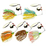 Best Lure For Bass Pikes - YOGAYET Fishing Hard Spinner Lure Spinnerbait Pike Bass Review