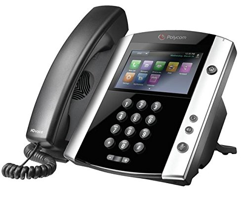 - Polycom VVX 600 IP Phone PoE New (2200-44600-025)