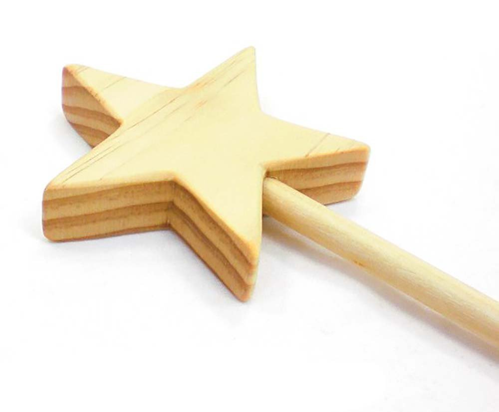 Magic Fairy Wand made from Natural Wood