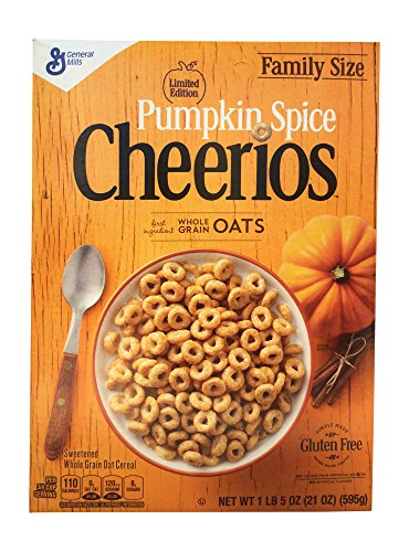 Pumpkin Spice Cheerios (Family Size)