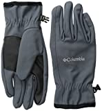 Columbia Men's M Ascender Softshell Glove, Graphite, Large