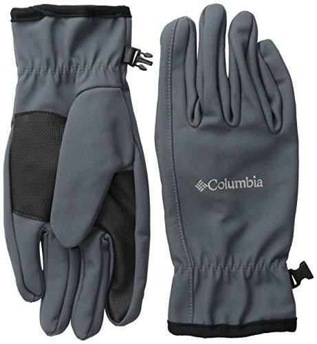 Columbia Men's M Ascender Softshell Glove, Graphite, Small ()