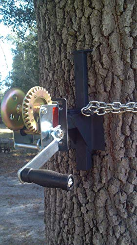 EZ-WINCH MOUNT for EZ-feeder hanger tree limb deer hog hunting game hoist boat -FREE SHIP
