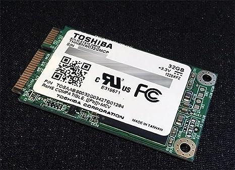 Toshiba 32 GB Disco de Estado sólido Disco SSD mSATA Mini PCI-E ...