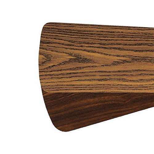 Quorum 5255624121,Five 52'' Reversible Dark Oak / Walnut Semi-Square Type 1 Blades by Quorum