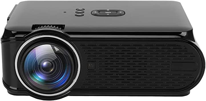 Estink Mini 1080P Proyector LED HD 1080P 1600 lúmenes Mini ...
