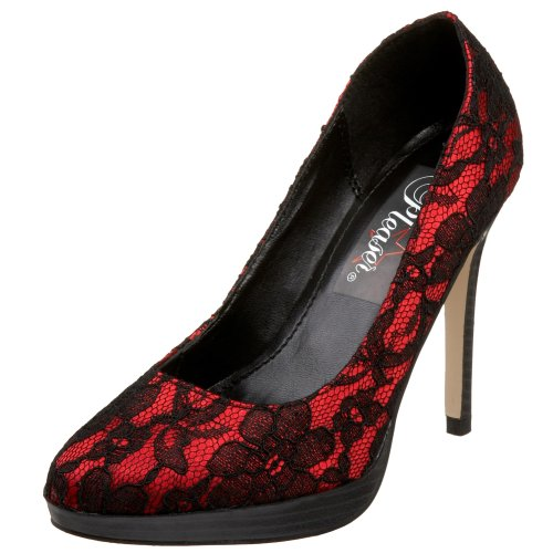 Sandales Pleaser Bliss Rouge 30 Femme 2 Plateforme qxgHP0x