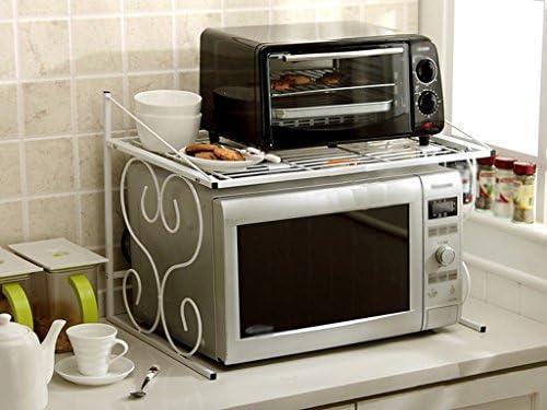Pasamanos Muebles Estante, Cocina de Metal Horno de microondas ...
