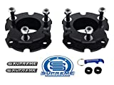 Supreme Suspensions - 2.5'' Front Lift Kit for 2015-2018 Chevy Colorado and GMC Canyon 2WD + 4WD Front Carbon Steel Strut Spacers