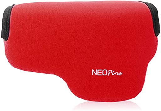 Rojo Funda Camara de Fotos Digital Camara Reflex Neopreno Estuche para Olympus Pen E-PL10 E-PL9 E-PL8 E-PL7 (14-42mm Lens): Amazon.es: Electrónica