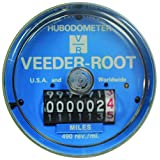 Veeder-Root Hubodometer,  490 revs/mile, Records Every Revolution, Zinc Die Cast Housing, Easy to Read, Unique Counterbalance Design, part # 0777717-490