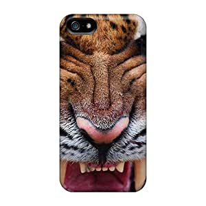 Durable Case For The Iphone 5/5s- Eco-friendly Retail Packaging(tiger Eyes Iv)
