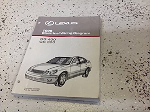 1998 lexus gs300 gs400 400 electrical wiring diagram service shop manual  oem ewd: lexus: amazon com: books