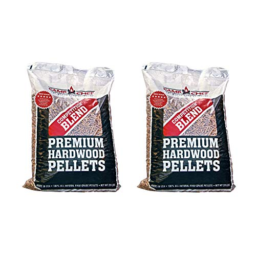Camp Chef Smoker Grill Competition Blend Hardwood Pellets, 20 lbs (2 Pack)